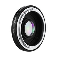derrube os anéis das lentes venda por atacado-Fd-ai Montagem de Lente Camera Lens Adapter Ring Para Canon FD montagem da lente para Nikon Ai F-mount SLR corpo para Macro Tiro FD AI
