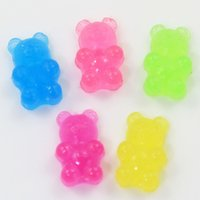 Wholesale diy cabochons for sale - Group buy Mixed mm Squishy Soft Resin Pastel Jelly Mix Gummy Bear Cabochons Soft Candy Slime Charms For Woman Girls Cartoon Jewelry Findings DIY