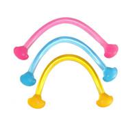 corda de geléia venda por atacado-Silica Gel Yoga Elastic Cordas Supino Jelly Corda puxando elástico Household fitness Yoga Exercício Tension Banda