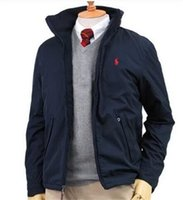 майки для мужчин оптовых-Новые мужские на молнии куртки для осени и зимы, с стоячим воротником, метят открытый спорта ветрозащитный с длинными рукавами рубашки