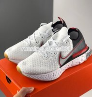 chaussures femmes  achat en gros de-Nike React Infinit Men's and women's ultra-light shoes unisex knitting casual Comfortable cushioning casual shoes designer shoes 36-45