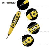 Wholesale chinese power tools resale online - Multi Function Chinese Digital Induction Test Pencil Screwdriver Electrical Tester With LED Light Power Tools AC DC By YLD