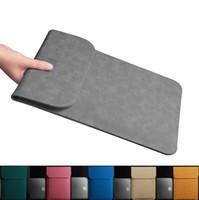 ingrosso sottile macbook-Ultrasottile Custodia in pelle computer portatile dell'unità di elaborazione del sacchetto Air Pro Retina 11 12 13 15 inch Supporto manica Per A1706 A1707 A1708