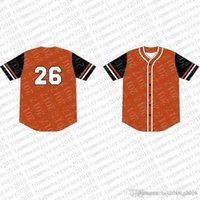 Wholesale baseball jerseys logos resale online - 2020 Top Custom Baseball Jerseys Mens Embroidery Logos Jersey Cheap Any name any number Size M XXL