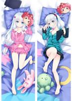 Wholesale body pillow cover anime for sale - Group buy Eromanga sensei anime Characters izumi sagiri pillow cover body Pillowcase Eromanga sensei Dakimakura