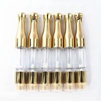 ce4 воск оптовых-Серебряный золотой фитиль G2 Vape для CE4 испаритель воск распылитель 510 нить 0.5 мл 1 мл бутон масло картридж O ручка круглый наконечник