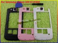 invólucro para s3 venda por atacado-Quadro HAOYUAN.P.W Oriente Habitação caso capa + Lente de câmera por Samsung Galaxy S3 S III