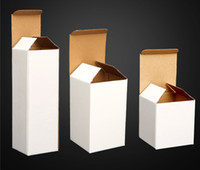 Wholesale wine gift boxes packaging for sale - Group buy Customized cup packaging oz skinny tumbler packing box Customize various models prompt goods White folding boxes for many size A07