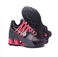 бесплатная доставка nz оптовых-Бесплатная доставка Женская обувь Shox 809 Avenue доставить текущий NZ R4 802 808 NZ RZ OZ воздуха женщины Grirls кроссовки размер 5.5-8.5 поставляются с коробкой