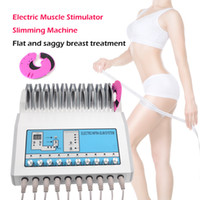 Wholesale use electronics for sale - Group buy Hot sale Electronic stimulation Machine Russian Waves ems Electric Muscle Stimulator for slim treatment spa salon home use