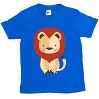 heiße orange rosa hemden großhandel-Geometrischer König des Dschungel-Löwe-T-Shirts Klagenhut-Rosa-T-Shirt RETRO VINTAGE Klassische Größe discout heißes neues T-Shirt