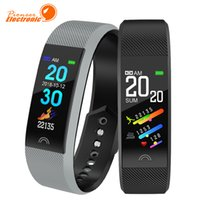 Wholesale turkish watch men for sale - Group buy F6 Smart Bracelet Heart Rate Monitor Waterproof Fitness Tracker Bluetooth Watch Band For Android Women Men Wristband