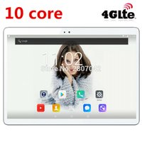 Wholesale dhl free shipping android tablets for sale - Group buy 2019 Newest Android Deca Core Tablet PC GB RAM GB ROM inch X1200 MP mAh WIFI GPS G LTE DHL