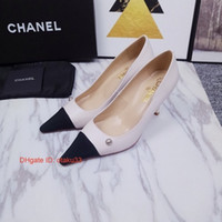 Wholesale stiletto shoes s resale online - Fashion Korean sexy nightclub high heels pointed shallow mouth high heel women s shoes stiletto thin color matching single shoes JP1117
