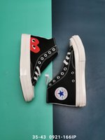 Wholesale square shoes for men for sale - Group buy DHL Free Mens COMMEs des GARCONS PLAY Chuck Cavans Sneakers for Men s Tayler Vulcanized Shoes Man Skateboarding Womens Skate Women