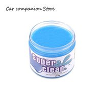 ingrosso tazze di gelatine-160g Car Cleaning Glue Slime Automobile Cup Holders Sticky Jelly Gel Composto Dust Wiper Cleaner