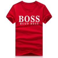 ingrosso tipo collo della camicia-2018 tipo di fumetti poster T-shirt Sconto all'ingrosso per gli appassionati di tutti i campioni 2019 Moda uomo marchio di abbigliamento maschile o collo Streetwear