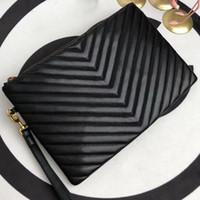 Wholesale fashion handbag envelope clutch for sale - Group buy 5A quality Women Handbags Designer Clutch Bags Fashion Designer Luxury Handbags Purses Designers wallet women bag color