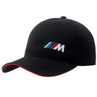 ingrosso berretto da baseball pubblicità-All'ingrosso 2019 alta qualità ultima mostra personalizzata BMW_racing berretti da baseball car logo auto attività tappi pubblicità sunhat