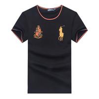 qualität t-shirts großhandel-Lauren Marke T-Shirt Polo Ralph T-Shirt Herren Designer T-Shirt hochwertige T-Shirts klassische Stickerei Pony Mark T-Shirts Größe M-XXL