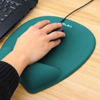 Wholesale pu gel pads for sale - Group buy Mouse Pads D With Wrist Rest Support Mouse Pad Silicone Gel Hand PU Anti slip Hand Pillow Memory Cotton Gaming Pad Mat