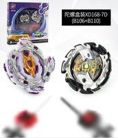 beyblade adet toptan satış-4 / ADET Toupie Beyblade Patlama Arenası Avec Lanceur Metal Fusion En boite 2 Couleur