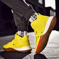 sapatos de lótus venda por atacado-Nova Bob Esponja x Kyrie 5 Patrick Lotus Squidward Rosa Mens Sapatos de basquete Irving 5 CJ6951-700 de alta qualidade tênis esportivos