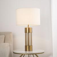 villa cabecera de modern mesa retro mesa Nordic oro LED lectura luxury decoración dormitorio American de luces lámpara de 0mnwv8N