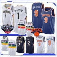 Wholesale ball flashes resale online - Zion Williamson New Basketball jersey R J Barrett Lonzo Ball Top Quality Hot sales jersey