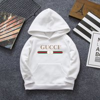2t bebek tutu toptan satış-2019 Klasik Luxurys Tasarımcı Bebek Hoodie Pantolon Ceket Ceket Kazak Çocuk giyim Moda çocuk Pamuklu Giysiler 3 Renkler 2 T-7 t