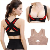 Wholesale body care corset for sale - Group buy Women Chest Posture Corrector Support Belt Body Shaper Corset Shoulder Brace for Health Care Drop Shipping S M L XL XXL