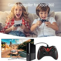 Wholesale xbox games accessories resale online - VODOOL USB Wired Game Handle Controller Joypad Gamepad for Microsoft Xbox for Xbox Slim PC Windows Game Pads Accessories