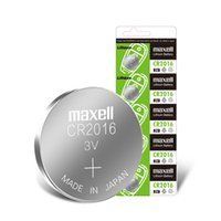 Wholesale cr2016 3v battery resale online - Maxell CR2032 CR2025 CR2016 v manganese dioxide lithium button battery CR1632 calorie
