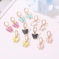 Wholesale cuffed earrings for sale - Group buy High Quality Cute Butterfly Earrings Street Style Drop Earrings Korean Fashion Dangle Earrings Jewelry for Women Gifts