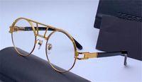 óculos redondos ópticos para homens venda por atacado-Novo designer de moda rodada retro óculos ópticos 9080 simples popular estilo dos homens top qualidade best selling eyewear