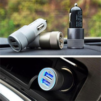Wholesale usb charger ce online – Best Metal Dual USB Port Car Charger Universal Amp for Apple iPhone X Plus Samsung Galaxy Motorola Droid Nokia Htc