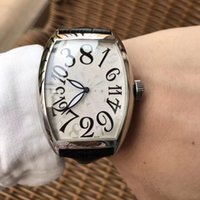 ingrosso orologi 55-2019 orologio da uomo automatico di lusso 2813 movimento automatico cinturino in pelle 55 * 39,6 * 14mm orologio da uomo automatico da regalo di lusso
