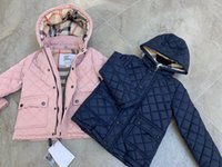 ücretsiz teslimat giysileri toptan satış-Üst satış 2-11Y bebek kız erkek% 90 ördek aşağı ceket palto kış sonbahar sıcak çocuk giyim ücretsiz teslimat ucuz üst Toptop