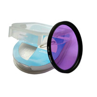 Wholesale digital cameras filters for sale - Group buy 10pieces mm FLD lens Digital Filter Lens Protector for canon nikon DSLR SLR Camera with box