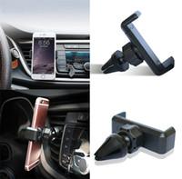 cep telefonları için araba beşiği toptan satış-Cep Telefonu Araç Tutucu Araç Hava Firar Dağı Cradle Tutucu Cep Akıllı Cep Telefonu GPS Için Standı