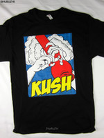 Wholesale bongs pic resale online - 420 Kush life bong pic pot men s Tee shirt black choose custom printed tshirt hip hop funny tee mens tee shirts sbz3245