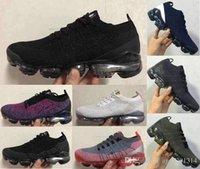 v3 siyah toptan satış-2019 tasarımcı 2.0 V3 Üçlü siyah Menekşe gri Oreo Erkekler Chaussures eğitmenler Spor Sneakers Koşu Ayakkabıları 40-45