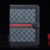 Wholesale 9.7 tablets for sale online – For Apple iPad Pro quot Designer iPad Case Flip Wallet Monogram Printing Pu Leather Tablet PC Cases For iPad Cover Hote Sale Gifts