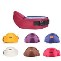 sırt çantası çocuk taşıyıcıları toptan satış-Bebek Taşıyıcı Bel Dışkı Yürüyüşe Bebek Sling Bel Kemeri Sırt Çantası Tutun Hipseat Kemer Çocuklar Bebek Kalça Koltuk