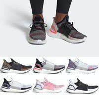 rote tennisschuhe für frauen großhandel-Adidas 2019 Ultra Boost 19 Männer Frauen Laufschuhe Ultraboost 5,0 Laser Red Dark Pixel Core Schwarz Günstige Trainer Sport Sneaker Größe 36-47