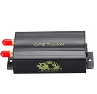 trackers fahrzeuge groihandel-TK103A Auto GPS Locator Fahrzeug Auto GPS Tracker Online Plattform Tracking Device Auto Locator Tracker KKA6734