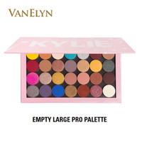 or ensemble 24k achat en gros de-Palette d'ombres à paupières New Retail Shadow Eyesowow Large Palette 28color Shimmer Satiné Finitions Mat