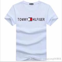 ingrosso abbigliamento sportivo per gli uomini-T-Shirt manica corta da uomo T-Shrits Taglie forti T-shirt da uomo 100% cotone Moda uomo Sport Coccer Ball Wear Casual Tee Abbigliamento g2