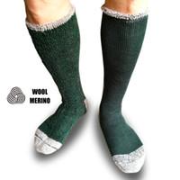 laine de haute qualité chaussettes hommes achat en gros de-Findcool Merino Wool Socks for Men Sports Ski Ski Randonnée Chaussettes Grimpantes Full Terrry Support Warm High Quality