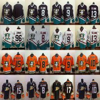 Wholesale ducks hockey jerseys for sale - Group buy Anaheim Ducks RBK Teemu Selanne Paul Kariya Ryan Getzlaf Ryan Kesler John Gibson Charlie Conway hockey Jerseys